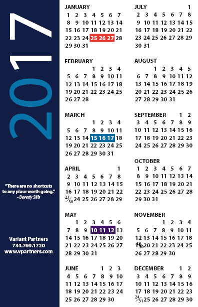2018/2019 Custom Calendar Cards Unique Promotional Products logo ...