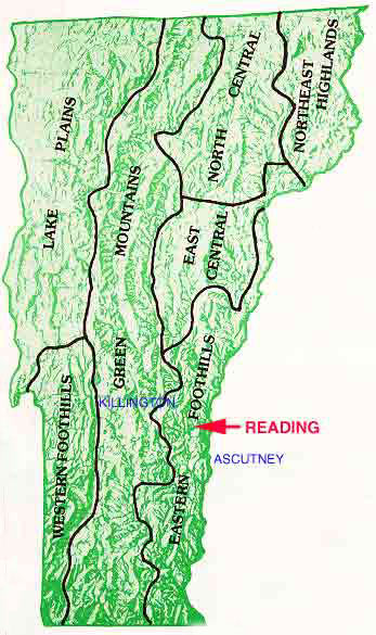 map of vermont mountains. Reading Vermont Land for Sale